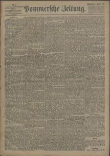 Pommersche Zeitung : organ für Politik und Provinzial-Interessen. 1893 Nr. 7