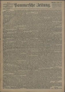 Pommersche Zeitung : organ für Politik und Provinzial-Interessen. 1893 Nr. 27