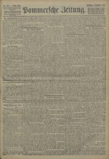 Pommersche Zeitung : organ für Politik und Provinzial-Interessen. 1904 Nr. 262 Blatt 1
