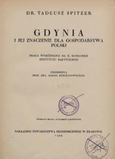 Gdynia i jej znaczenie dla gospodarki Polski
