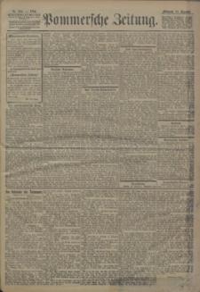Pommersche Zeitung : organ für Politik und Provinzial-Interessen. 1904 Nr. 306