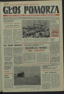 Głos Pomorza. 1979, wrzesień, nr 199