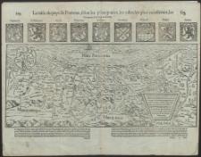 La table du pays de Pomeran, selon les principautez, les villes les plus excellentes, les bourgades et chateaux d'icelle