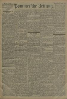 Pommersche Zeitung : organ für Politik und Provinzial-Interessen. 1898 Nr. 1