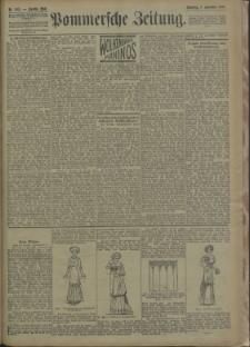 Pommersche Zeitung : organ für Politik und Provinzial-Interessen. 1909 Nr. 285 Blatt 1