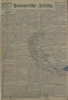 Pommersche Zeitung : organ für Politik und Provinzial-Interessen. 1896 Nr. 155