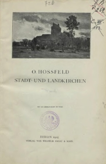 Stadt- und Landkirchen