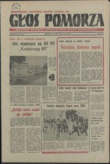 Głos Pomorza. 1980, lipiec, nr 149