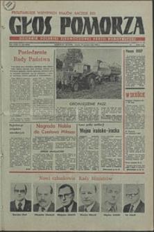 Głos Pomorza. 1980, październik, nr 220