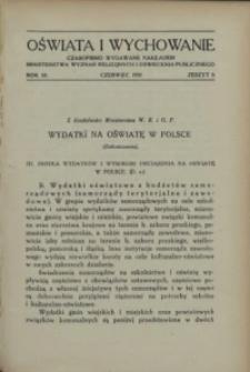 Oświata i Wychowanie. R.3, 1931 nr 6