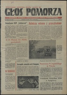 Głos Pomorza. 1981, kwiecień, nr 67