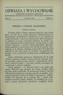 Oświata i Wychowanie. R.4, 1932 nr 3