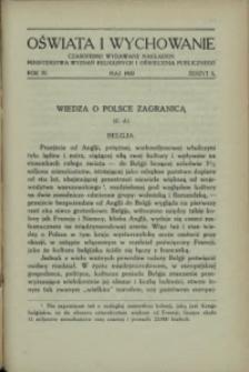 Oświata i Wychowanie. R.4, 1932 nr 5