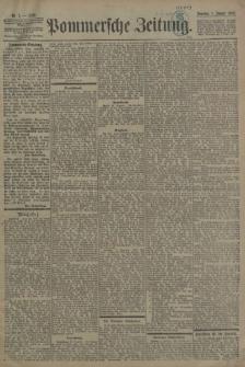 Pommersche Zeitung : organ für Politik und Provinzial-Interessen. 1899 Nr. 8