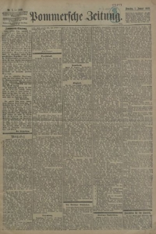 Pommersche Zeitung : organ für Politik und Provinzial-Interessen. 1899 Nr. 18
