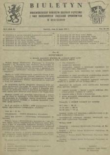 Biuletyn Wojewódzkiego Komitetu Kultury Fizycznej i Rad Okręgowych Zrzeszeń Sportowych w Szczecinie. R.2, 1956 nr 9