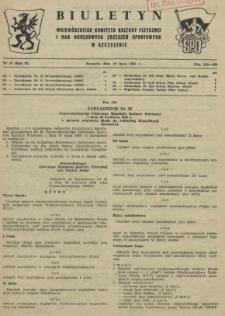 Biuletyn Wojewódzkiego Komitetu Kultury Fizycznej i Rad Okręgowych Zrzeszeń Sportowych w Szczecinie. R.2, 1956 nr 13