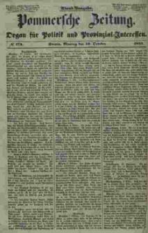 Pommersche Zeitung : organ für Politik und Provinzial-Interessen. 1853 Nr. 174