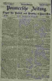 Pommersche Zeitung : organ für Politik und Provinzial-Interessen. 1853 Nr. 195