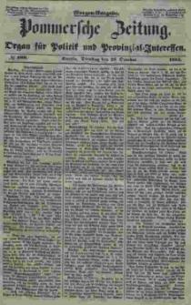 Pommersche Zeitung : organ für Politik und Provinzial-Interessen. 1853 Nr. 199