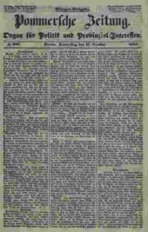 Pommersche Zeitung : organ für Politik und Provinzial-Interessen. 1853 Nr. 203