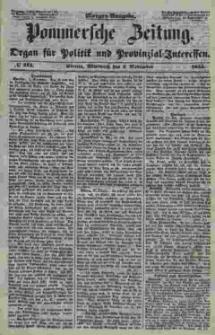 Pommersche Zeitung : organ für Politik und Provinzial-Interessen. 1853 Nr. 213