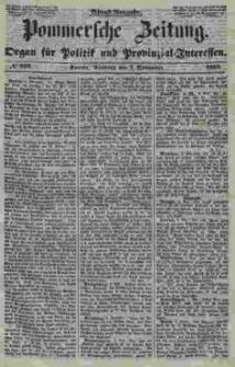 Pommersche Zeitung : organ für Politik und Provinzial-Interessen. 1853 Nr. 222