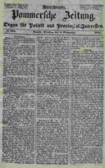 Pommersche Zeitung : organ für Politik und Provinzial-Interessen. 1853 Nr. 224