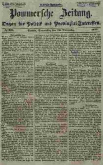 Pommersche Zeitung : organ für Politik und Provinzial-Interessen. 1853 Nr. 228