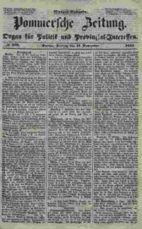 Pommersche Zeitung : organ für Politik und Provinzial-Interessen. 1853 Nr. 229