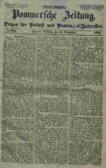 Pommersche Zeitung : organ für Politik und Provinzial-Interessen. 1853 Nr. 236