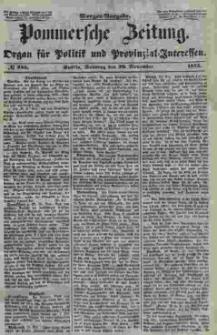 Pommersche Zeitung : organ für Politik und Provinzial-Interessen. 1853 Nr. 245