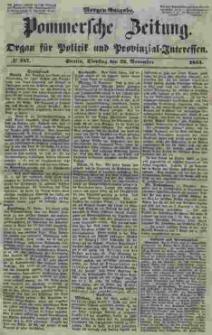 Pommersche Zeitung : organ für Politik und Provinzial-Interessen. 1853 Nr. 247