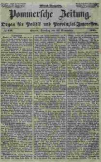 Pommersche Zeitung : organ für Politik und Provinzial-Interessen. 1853 Nr. 248