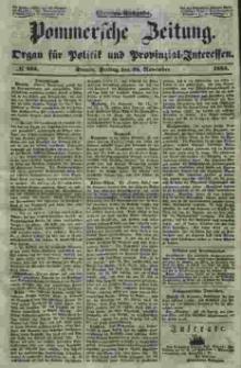 Pommersche Zeitung : organ für Politik und Provinzial-Interessen. 1853 Nr. 253