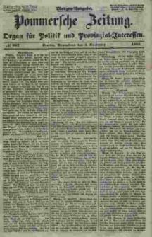 Pommersche Zeitung : organ für Politik und Provinzial-Interessen. 1853 Nr. 267