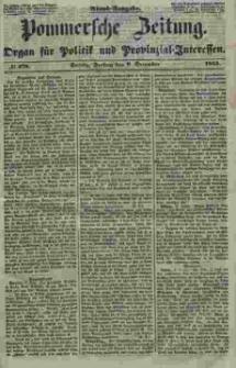 Pommersche Zeitung : organ für Politik und Provinzial-Interessen. 1853 Nr. 278