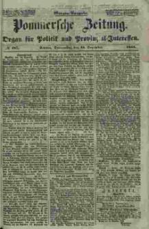 Pommersche Zeitung : organ für Politik und Provinzial-Interessen. 1853 Nr. 287