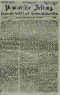 Pommersche Zeitung : organ für Politik und Provinzial-Interessen. 1853 Nr. 288