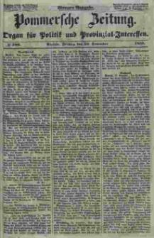 Pommersche Zeitung : organ für Politik und Provinzial-Interessen. 1853 Nr. 289