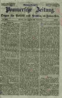 Pommersche Zeitung : organ für Politik und Provinzial-Interessen. 1853 Nr. 301