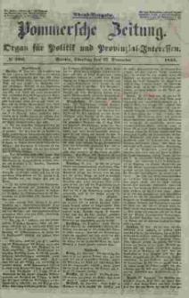 Pommersche Zeitung : organ für Politik und Provinzial-Interessen. 1853 Nr. 306
