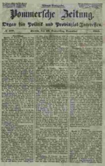Pommersche Zeitung : organ für Politik und Provinzial-Interessen. 1853 Nr. 313
