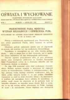 Oświata i Wychowanie. R.1, 1929 nr 2