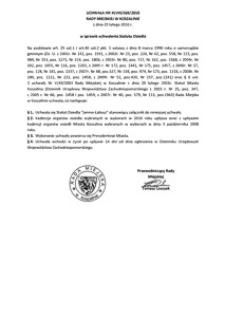 Uchwała Rady Miejskiej w Koszalinie nr XLVIII/569/2010