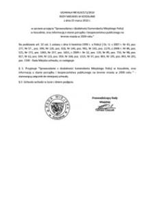 Uchwała Rady Miejskiej w Koszalinie nr XLIX/571/2010
