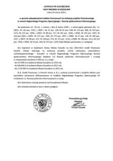 Uchwała Rady Miejskiej w Koszalinie nr XLIX/580/2010