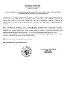Uchwała Rady Miejskiej w Koszalinie nr XLIX/589/2010