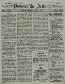 Pommersche Zeitung : organ für Politik und Provinzial-Interessen. 1859 Nr. 350