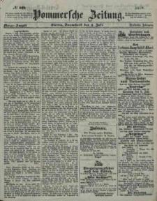 Pommersche Zeitung : organ für Politik und Provinzial-Interessen. 1859 Nr. 399